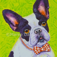 LIME GREEN FRENCH BULLDOG