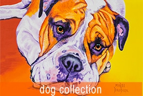 Dog Collection Maree Davidson Art