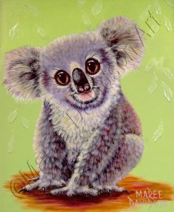 TRUE BLUE - KOALA Maree Davidson Art