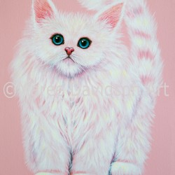 CAHMERE_ROSE_KITTEN_Maree_Davidson_Art