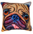 DUG THE PUG CUSHION COVER MAREE DAVIDSON ART