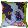 FRENCH BULLDOG THROW CUSHION