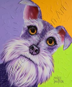 DOG COLLECTION - SCHNAUZER HARRY Maree Davidson Art