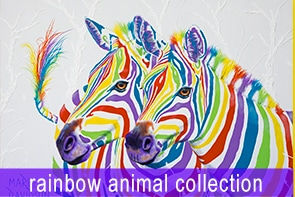 Rainbow Collection Maree Davidson Art
