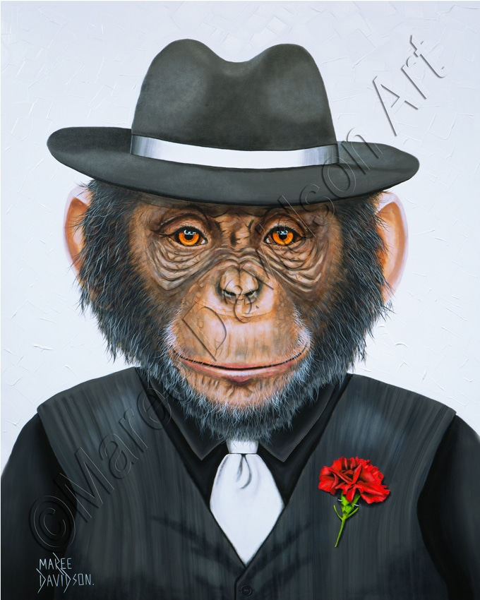 Gangster Chimp