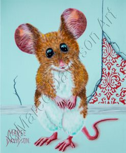 LITTLE HOUSE GUEST Maree Davidson Art