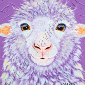 SHAGGY THE SHEEP Maree Davidson Art