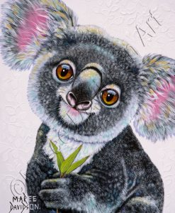 DROP BEAR - KOALA Maree Davidson Art