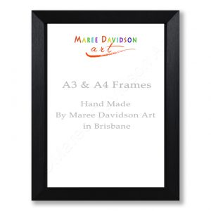 A4 & A3 Black and White Frames Maree Davidson Art