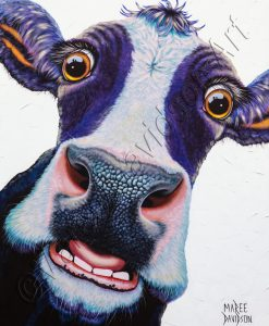 BETSIE THE COW Maree Davidson Art