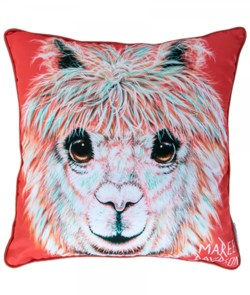 ALPACA - CUSHION COVER- MAREE DAVIDSON ART