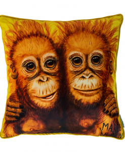 FOREVER FRIENDS - CUSHION COVER - MAREE DAVIDSON ART