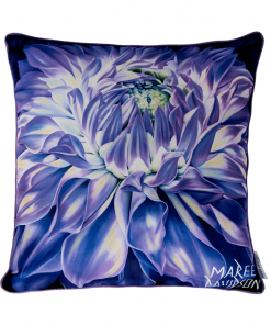 SERENITY - FLOWER COLLECTION - CUSHION COVER - MAREE DAVIDSON ART