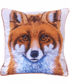 SWIFT THE LITTLE RED FOX - CUSHION COVER - MAREE DAVIDSON ART