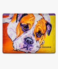 Australian Bulldog- Ceramic Magnets - Maree DavidsonSCHNAUZER HARRY- Ceramic Magnets - Maree Davidson
