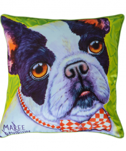 BULLDOG - CUSHION COVER - MAREE DAVIDSON ART