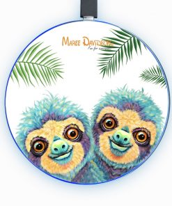 Baby Sloth - Phone Charger - Maree Davidson Art