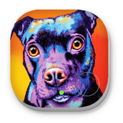 Baby staffy - PHONE AND KEY FINDER