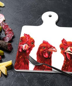 BARNYARED BUDDIES-SQUARE TRIVETS-MAREE DAVIDSON