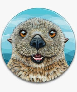 Barry the Sea Otter- Ceramic Trivets - Maree Davidson