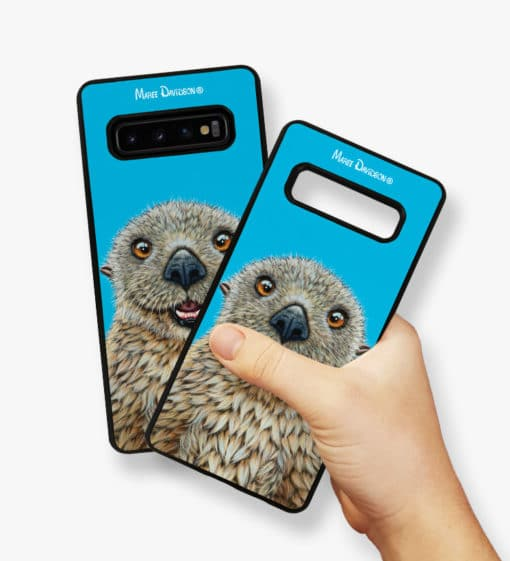 Barry the Sea Otter - Samsung Phone Case - Maree Davidson 2