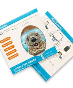 Barry the sea otter - PHONE AND KEY FINDER