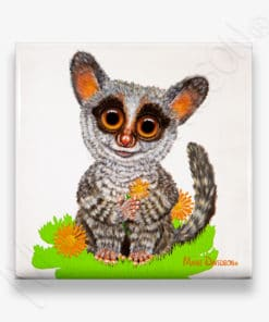 Bush Baby - Ceramic Coaster - Maree Davidson