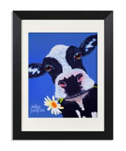 Daisy the Cow - Maree Davidson Art