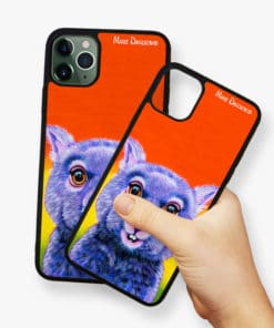 Digger the Wombat - Phone Case - Maree Davidson 2