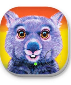 Digger the wombat- PHONE AND KEY FINDER - MAREE DAVIDSON ART