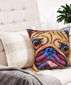 Doug the Pug - Maree Davidson - Cushion Cover