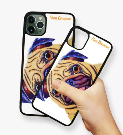 Doug the Pug - Phone Case - Maree Davidson 2