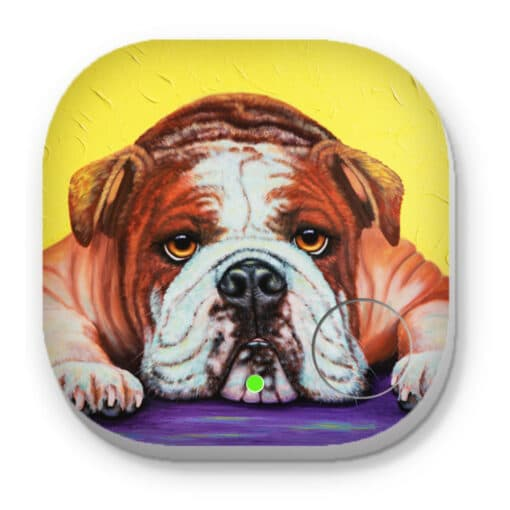 English bulldog angel - PHONE AND KEY FINDER