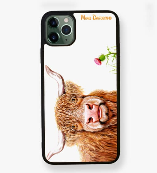 Fergus - iPhone Case - Maree Davidson