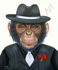 GANGSTA CHIMP