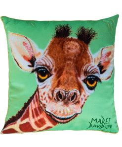 GIRAFEE - CUSHION COVER - MAREE DAVIDSON ART