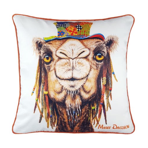 HIPPIE CAMEL - CUSHION COVER -