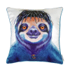 HIPPIE SLOTH - CUSHION COVER - MAREE DAVIDSON ART