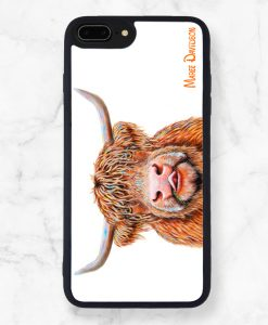 Hamish Black iPhone Case Cover - Maree Davidson