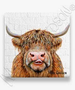 Hamish - Ceramic Coaster - Maree Davidson