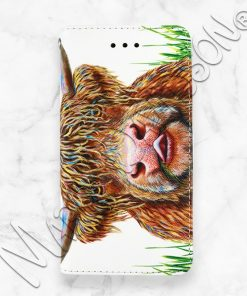 Hamish Highland Cow iPhone Wallet Case Maree Davidson