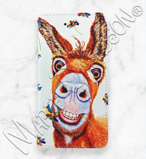 Happy Forever Donkey iPhone Wallet Case Maree Davidson