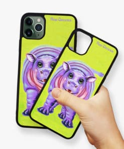 Happy Hippo - Phone Case - Maree Davidson 2