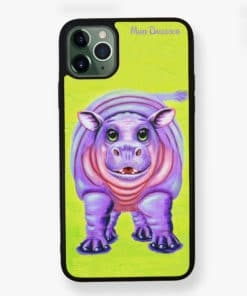 Happy Hippo - Phone Case - Maree Davidson