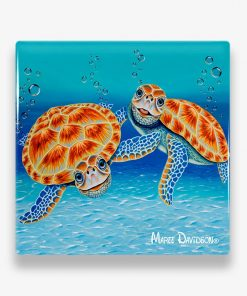 Happy Together - Ceramic Coaster - Maree Davidson