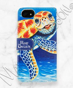 Happy Together Turtle iPhone Wallet Case Maree Davidson