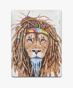 Hippie Lion- Ceramic Magnets - Maree Davidson