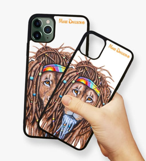 Hippie Lion - Phone Case - Maree Davidson 2