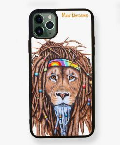 Hippie Lion - Phone Case - Maree Davidson