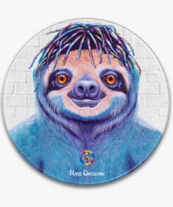 Hippie Sloth- Ceramic Trivets - Maree Davidson